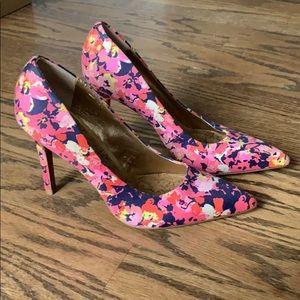 Loft Floral Heels